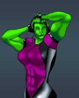 She-Hulk Secret War Costume