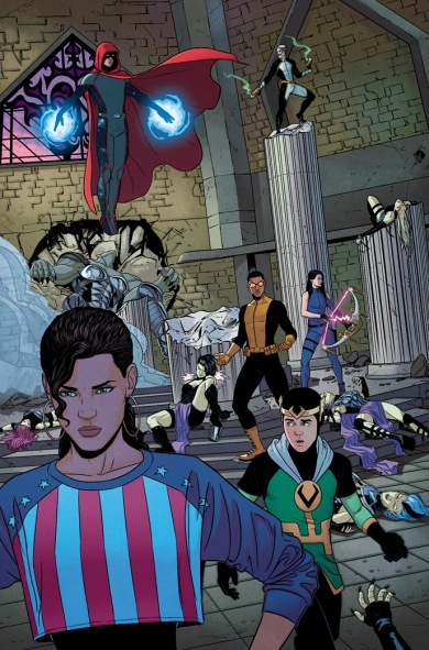 Young Avengers Issue #11
