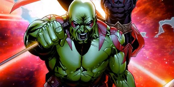Drax The Destroyer Vs Venom: Hero Datafile: Drax The Destroyer