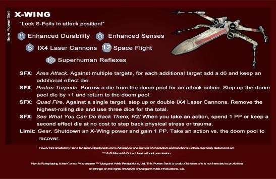 X-WingPowerSet