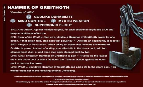 Hammer of Greithoth