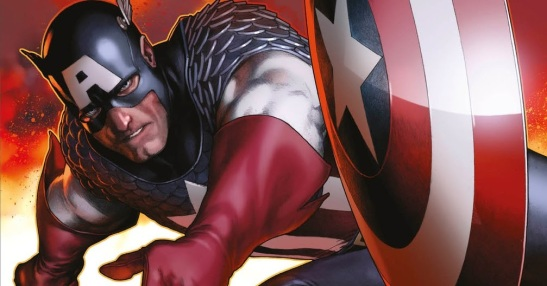 Captain America Ultimate Guide cover