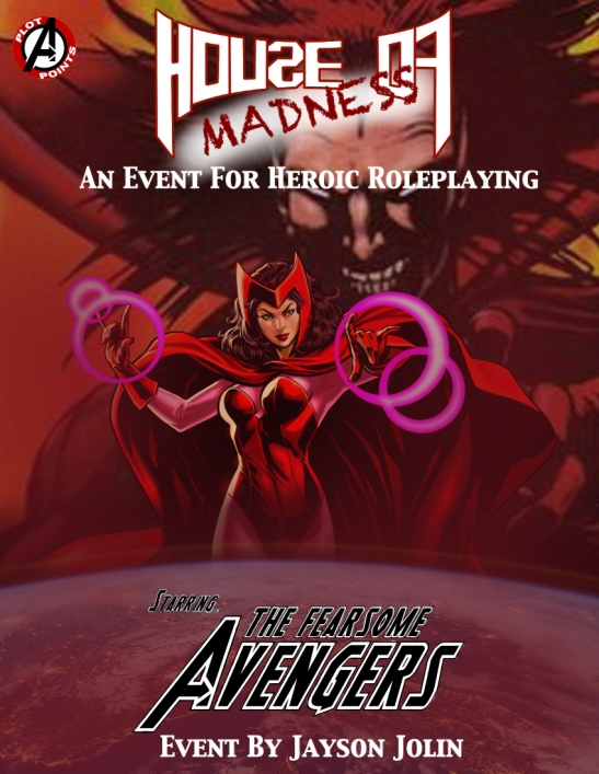 House Of Madness Event Cover