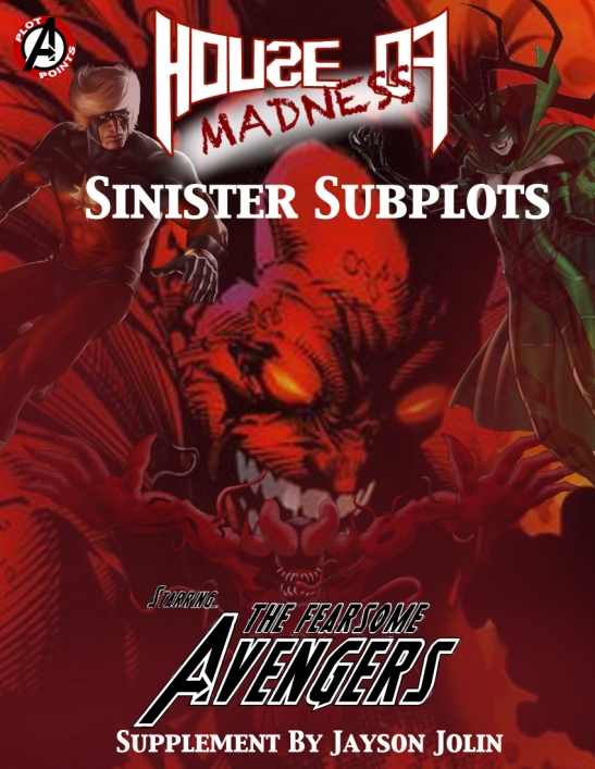 Sinister Subplots Cover