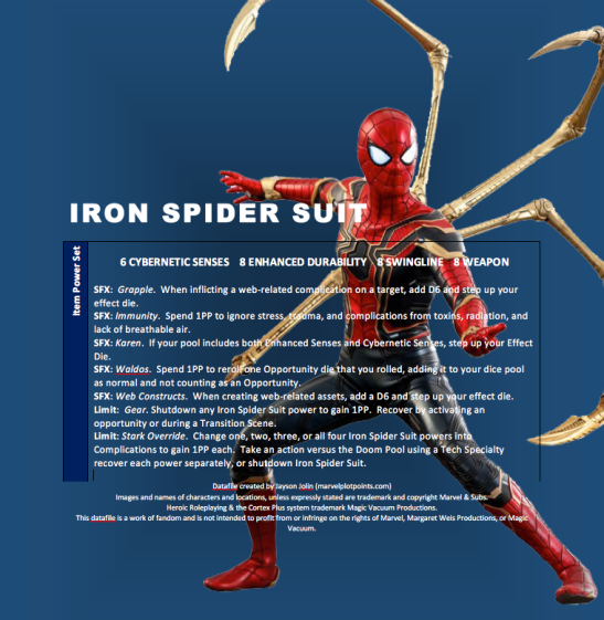 Iron Spider Suit