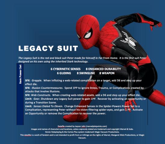 Legacy Suit